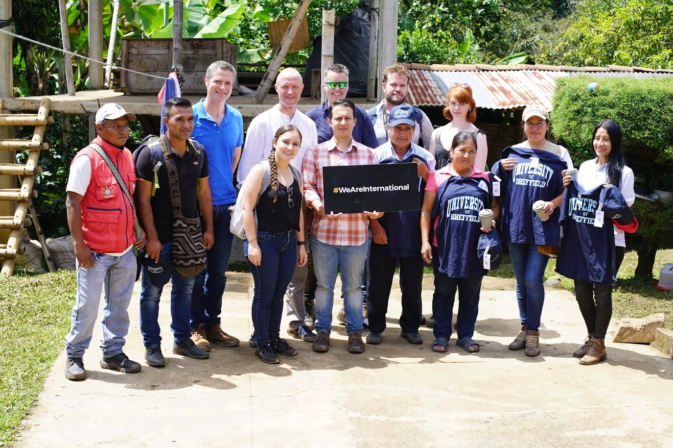 The University of Sheffield visits Cauca, Colombia